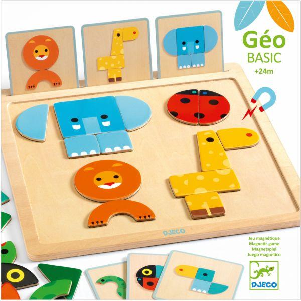 DJECO Geo Basic edukačná magnetická hra