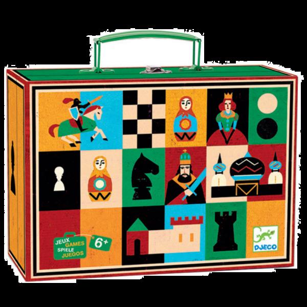 DJECO Spoločenské hry Šach a dáma